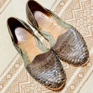 {WILL LEATHER GOODS} Woven Huaraches Sandals